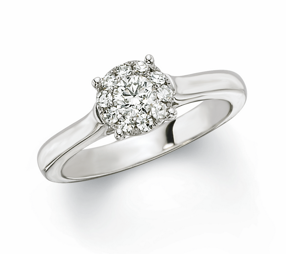Engagement Ring Ideas Sterling Silver Diamond Rings